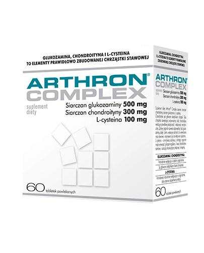 ARTHRON Complex - 60 tabl. Dla zdrowia części chrzęsto-stawowych szkieletu kostnego. - Apteka internetowa Melissa
