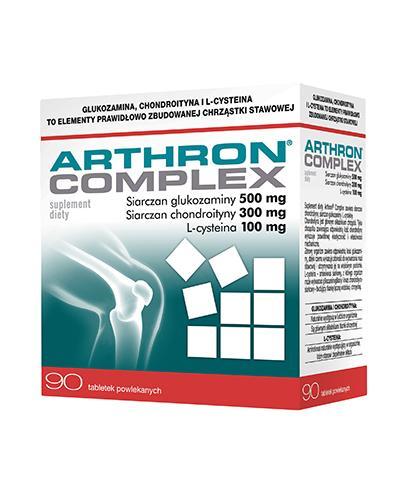 ARTHRON Complex - 90 tabl. - Na stawy - cena, opinie, dawkowanie - Drogeria Melissa