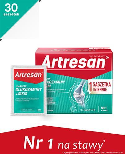 ARTRESAN - 30 sasz. Dla zdrowych i sprawnych stawów.