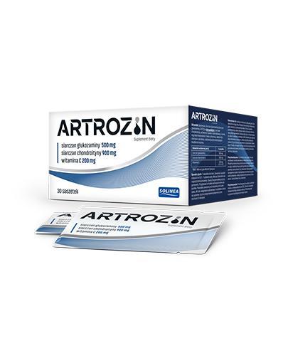 ARTROZIN - 30 sasz. - cena, dawkowanie, opinie  - Apteka internetowa Melissa