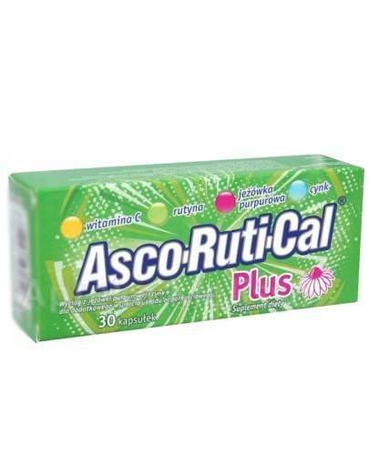 ASCORUTICAL Plus - 30 kaps.