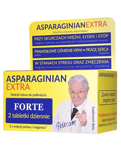 ASPARAGINIAN EXTRA Magnezu-potasu - 50 tabl. - Drogeria Melissa