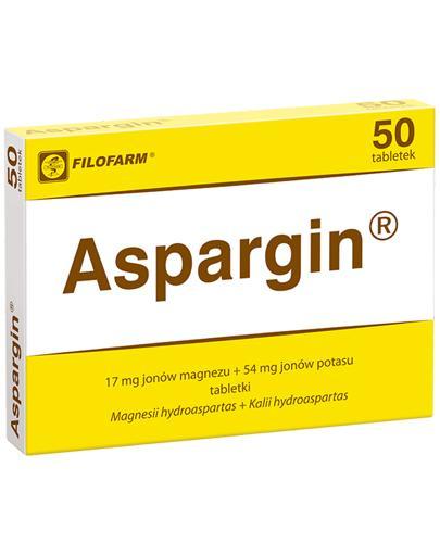 ASPARGIN - 50 tabl. - Apteka internetowa Melissa
