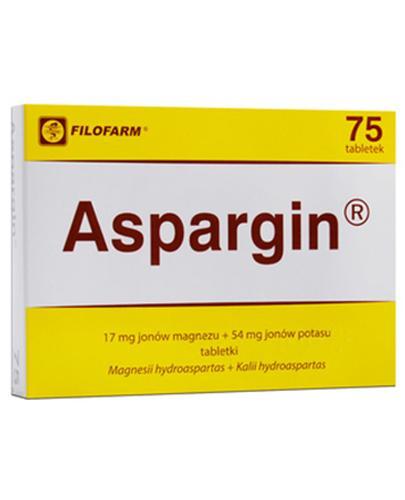 ASPARGIN - 75 tabl.