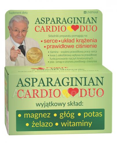 ASPARGINIAN CARDIODUO - 50 tabl. - Drogeria Melissa