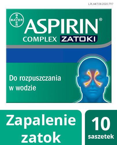 ASPIRIN COMPLEX - 10 sasz. - Apteka internetowa Melissa