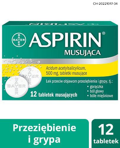 ASPIRIN ULTRA FAST - 12 tabl. mus. - Apteka internetowa Melissa