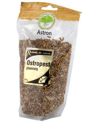 Astron Ostropest plamisty nasiona - 250 g - cena, opinie, stosowanie