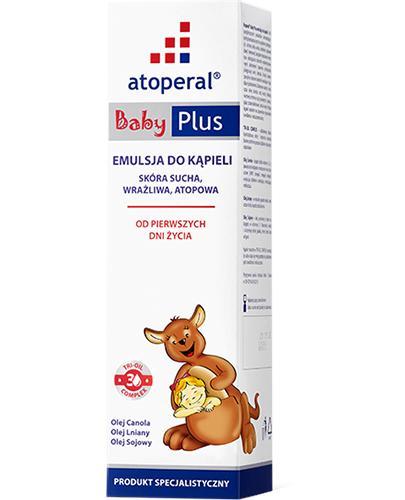 ATOPERAL BABY PLUS Emulsja do kąpieli - 400 ml