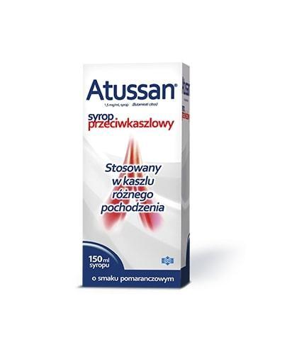 ATUSSAN Syrop przeciwkaszlowy - 150 ml - Apteka internetowa Melissa
