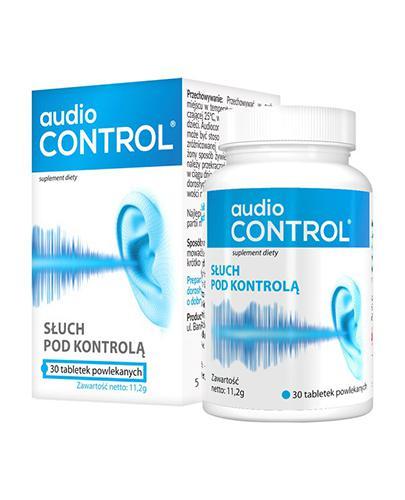 AUDIOCONTROL - 30 tabl. Wsparcie narządu słuchu. - Drogeria Melissa