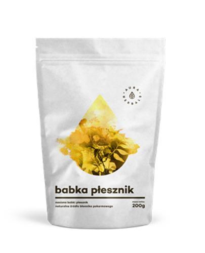 AURA HERBALS Babka płesznik - 200 g - lepsza perystaltyka jelit - cena, właściwości, opinie - Apteka internetowa Melissa