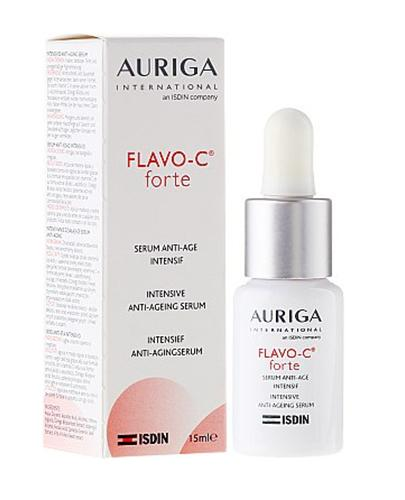 AURIGA FLAVO-C FORTE Serum - 15 ml. Na widoczne zmarszczki i oznaki starzenia. - Drogeria Melissa