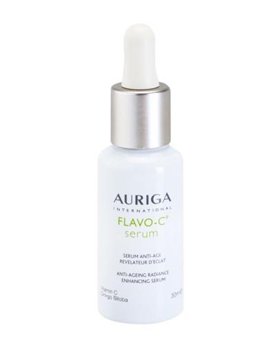 AURIGA FLAVO-C Serum rozświetlające - 30 ml. Opóźnianie procesów starzenia i pielęgnacja skóry twarzy po 30. r. ż.