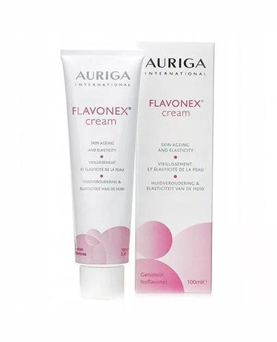 AURIGA FLAVONEX Krem poprawiający gęstość i elastycznośc skóry w okresie menopauzalnym - 100 ml - Drogeria Melissa