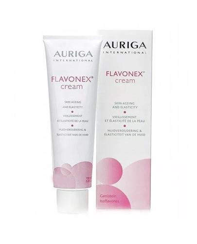 AURIGA FLAVONEX Krem poprawiający gęstość i elastycznośc skóry w okresie menopauzalnym - 50 ml - Drogeria Melissa