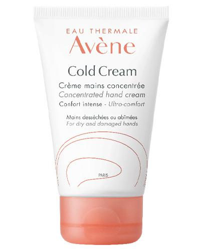 AVENE COLD CREAM Skoncentrowany krem do rąk - 50 ml - Apteka internetowa Melissa