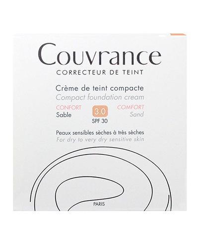 AVENE COUVRANCE COMFORT SPF30 Kremowy podkład w kompakcie 03 piaskowy - 10 g - Drogeria Melissa