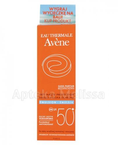 AVENE Emulsja bezzapachowa SPF50+ - 50 ml  - Apteka internetowa Melissa
