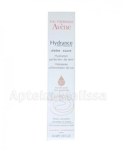 AVENE Hydrance Optimale Legere Nawilżający krem wyrównujący koloryt skóry SPF30 - 40 ml - Apteka internetowa Melissa