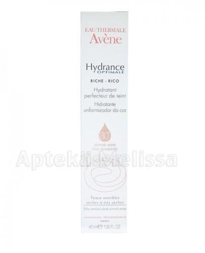 AVENE Hydrance Optimale Riche Nawilżający krem wyrównujący koloryt skóry SPF30 - 40 ml - Apteka internetowa Melissa