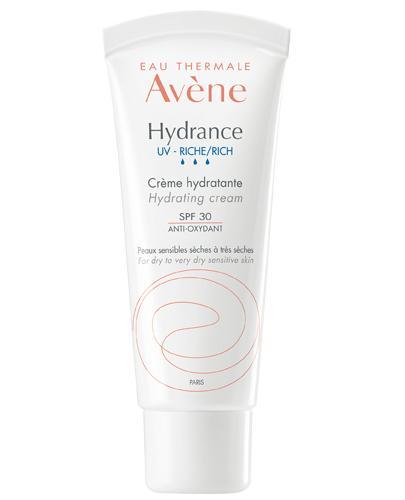 AVENE HYDRANCE UV RICHE Bogaty krem nawilżający SPF30 - 40 ml - cena, stosowanie, opinie