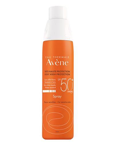 AVENE SUN Spray z bardzo wysoką ochroną przeciwsłoneczna SPF50+ - 200 ml  - Apteka internetowa Melissa
