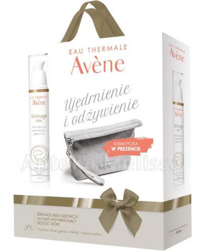 AVENE SERENAGE Krem odżywczy na dzień przywracający gęstość skóry - 40 ml + Kosmetyczka w prezencie