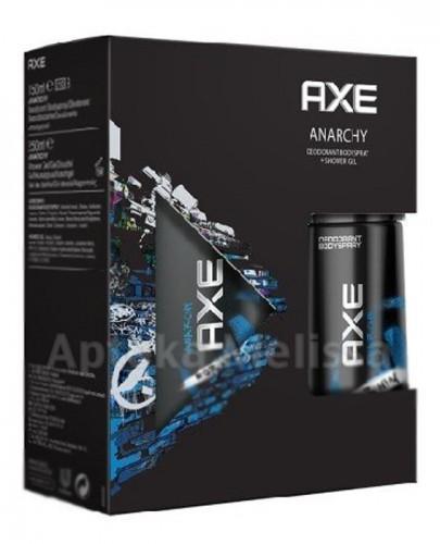 AXE ANARCHY Dezodorant w aerozolu - 150 ml + Żel pod prysznic 250 ml