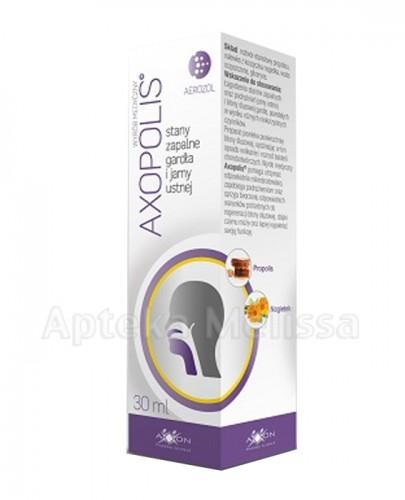 AXOPOLIS Aerozol na stany zapalne gardła i jamy ustnej -  30 ml - Apteka internetowa Melissa