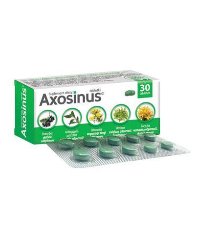Axosinus - 30 tabl. - cena, opinie, wlaściwości - Apteka internetowa Melissa