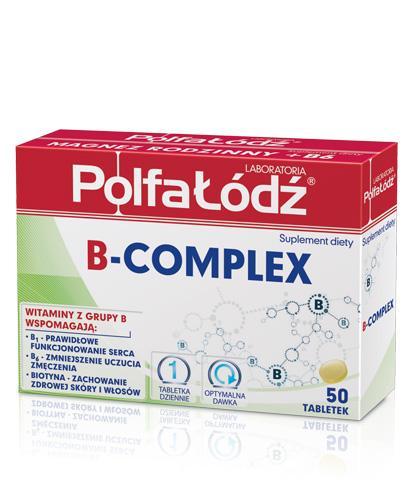 B-COMPLEX - 50 tabl. - Apteka internetowa Melissa