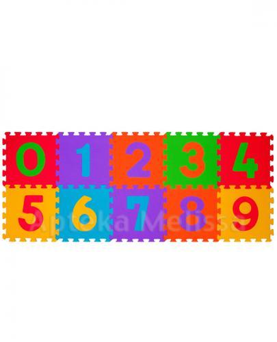 BABYONO Puzzle piankowe liczby - 10 szt. - Apteka internetowa Melissa