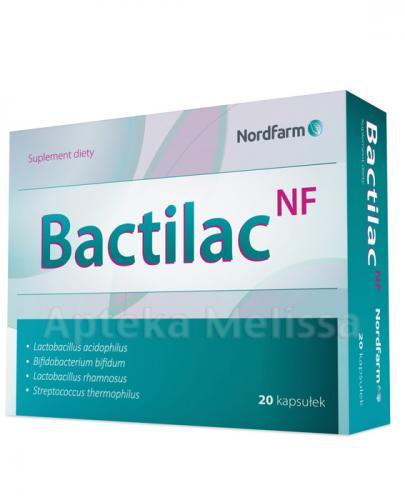 BACTILAC NF - 20 kaps. Równowaga flory bakteryjnej. - Apteka internetowa Melissa