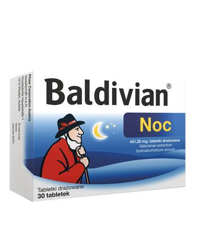 54ef19f8397f2d BALDIVIAN NOC - 30 tabl. Roślinny lek nasenny. - Apteka internetowa Melissa