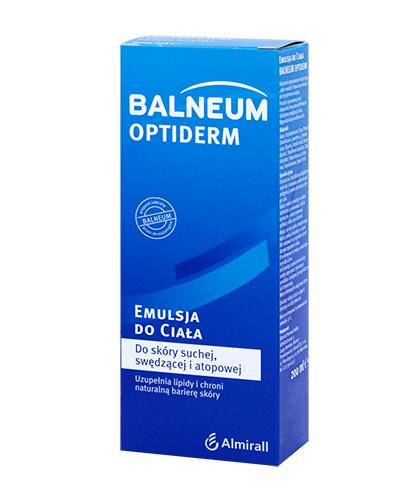 BALNEUM OPTIDERM Emulsja do ciała - 200 ml - Apteka internetowa Melissa