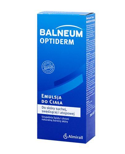 BALNEUM OPTIDERM Emulsja do ciała - 200 ml - Apteka internetowa Melissa
