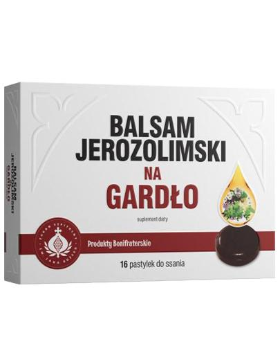 BALSAM JEROZOLIMSKI NA GARDŁO Pastylki do ssania - 16 past.