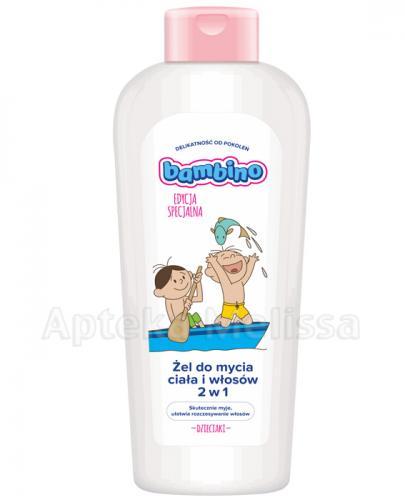 BAMBINO Żel do mycia ciała i włosów 2w1 - 400 ml - Apteka internetowa Melissa