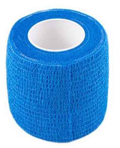 Bandaż kohezyjny 5 m x 4,5 cm niebieski - 1 szt. - cena, opinie, stosowanie
