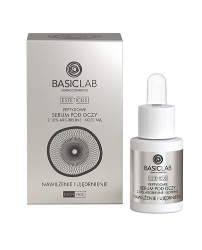 BASICLAB ESTETICUS Kuracja przeciwzmarszczkowa pod oczy nawilżenie i ujędrnienie - 15 ml - Apteka internetowa Melissa