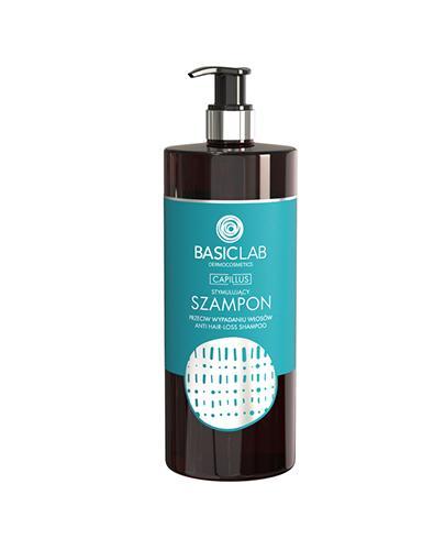 Basiclab Szampon stymulujący przeciw wypadaniu włosów - 500 ml - cena, opinie, właściwości - Apteka internetowa Melissa