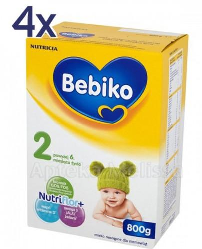 BEBIKO 2 Mleko modyfikowane następne dla niemowląt - 4 x 800 g  - Apteka internetowa Melissa