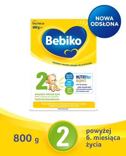 BEBIKO 2 Mleko modyfikowane następne dla niemowląt - 800 g