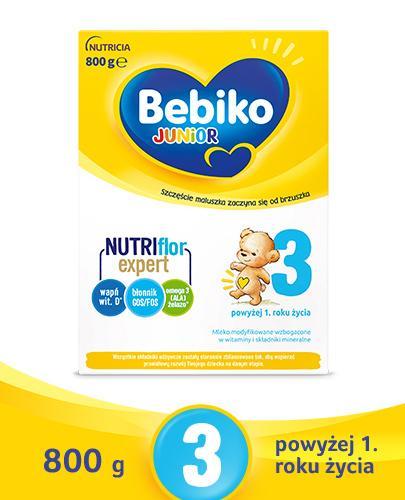 Bebiko 3 Junior Mleko modyfikowane następne dla niemowląt - Apteka internetowa Melissa