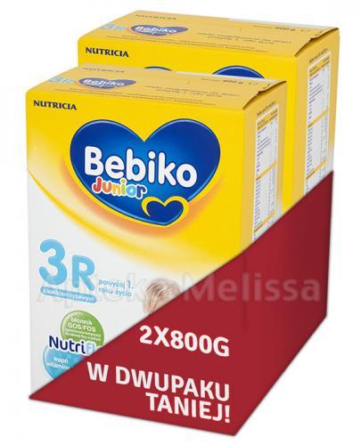 BEBIKO 3R JUNIOR Mleko modyfikowane następne dla niemowląt - 2 x 800 g - Apteka internetowa Melissa