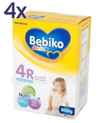 BEBIKO 4R JUNIOR Mleko modyfikowane następne dla niemowląt - 4 x 800 g - Apteka internetowa Melissa