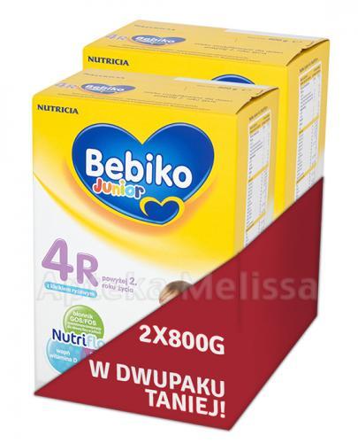 BEBIKO 4R JUNIOR Mleko modyfikowane następne dla niemowląt - 2 x 800 g  - Apteka internetowa Melissa