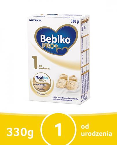 BEBIKO PRO+ 1 Mleko Początkowe proszek - 330 g Data ważności: 2016.12.17
