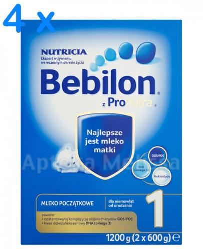 BEBILON 1 Z PRONUTRA Mleko modyfikowane w proszku - 4 x 1200 g - Apteka internetowa Melissa